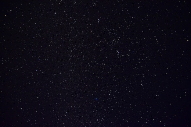 Projeto de especificação de cópia do fundo estrela céu noite para textura