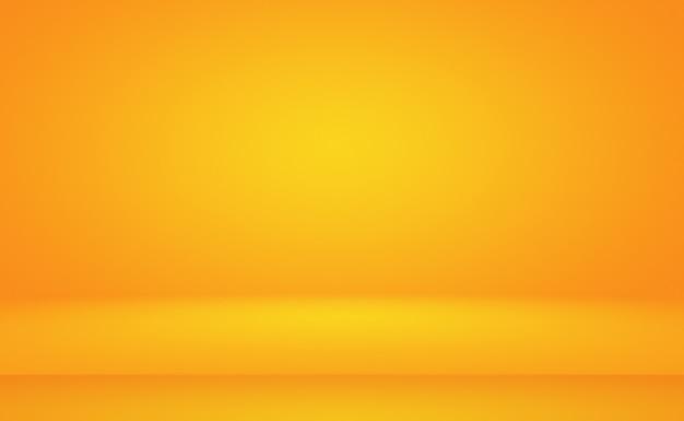 Projeto de layout abstrato laranja, estúdio, sala, modelo da web, relatório de negócios com cor gradiente de círculo suave.