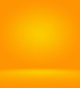Projeto de layout abstrato laranja, estúdio, sala
