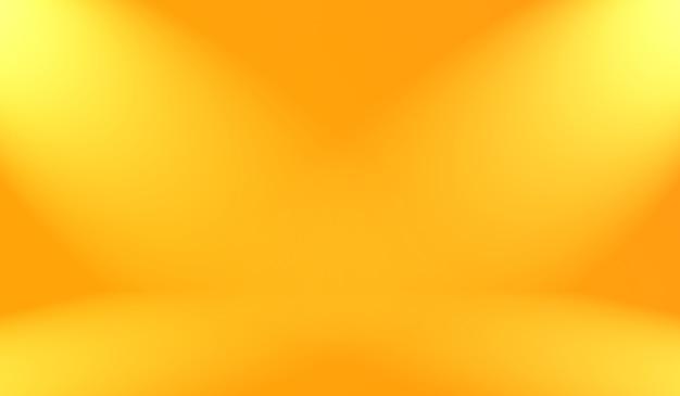 Projeto de layout abstrato liso laranja, estúdio, sala, modelo da web, relatório de negócios com cor gradiente de círculo suave.