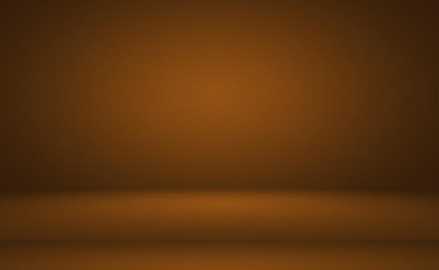 Projeto de layout de fundo de parede marrom liso abstrato, estúdio, sala, modelo da web, relatório de negócios com cor gradiente de círculo suave