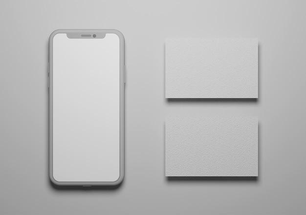 Projeto de maquete para celular e cartão de visita
