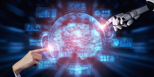 Projeto de tecnologia de mineração de dados digital e aprendizado de máquina para o cérebro do computador.
