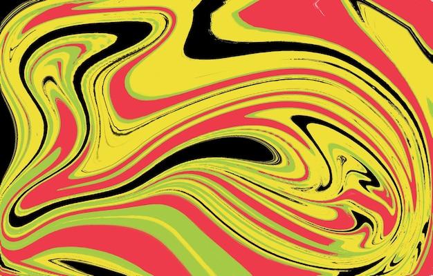 Projeto do fundo do gradiente de cor fundo geométrico abstrato com formas líquidas fundo legal