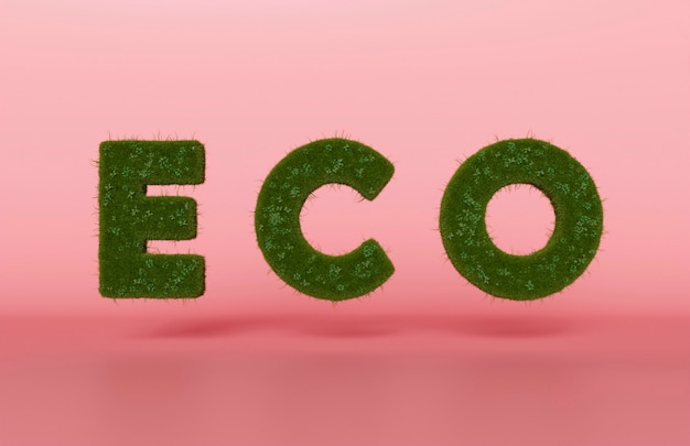 Projeto eco 3d para o meio ambiente