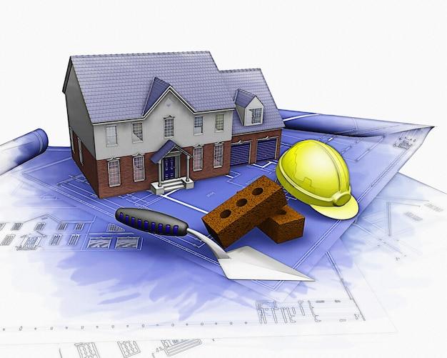 Projeto planos de construção