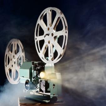 Projetor de filme retrô