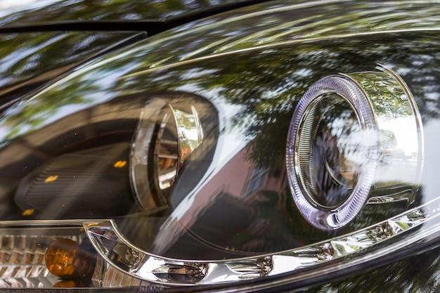 Projetor de luzes de cabeça de carro