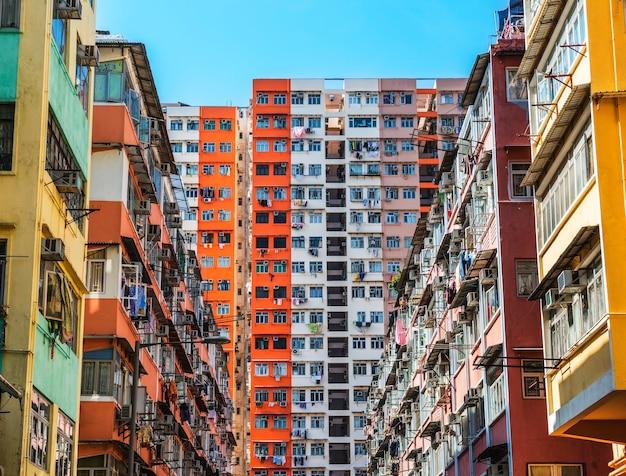 Projetos habitacionais em hong kong
