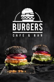 Promoção de boteco com hambúrguer delicioso