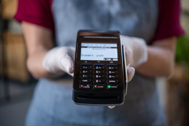 Pronto para pagamento eletrônico