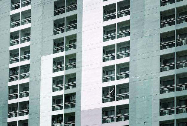 Propriedade de residência externa para viver na vida urbana