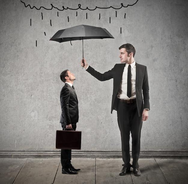 Proteção nos negócios