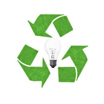 Proteção torre conservação seta compact lâmpada fluorescente