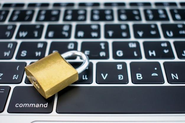 Proteja seu computador usando o teclado