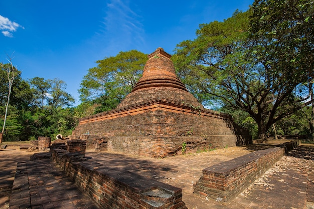Província de wat mahathat pichit, tailândia.