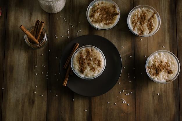 Pudim de arroz de sobremesa