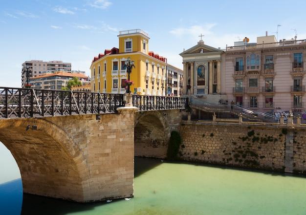Puente viejo de los peligros em múrcia, espanha