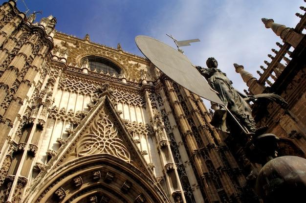 Puerta del principe, cathedal, de, sevilla, andalucia, espanha