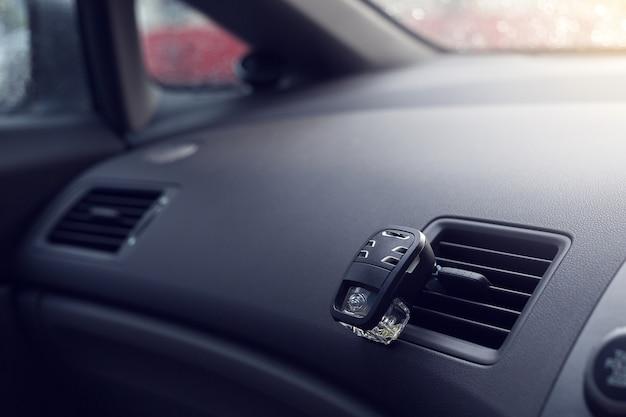 Purificador de ar no carro