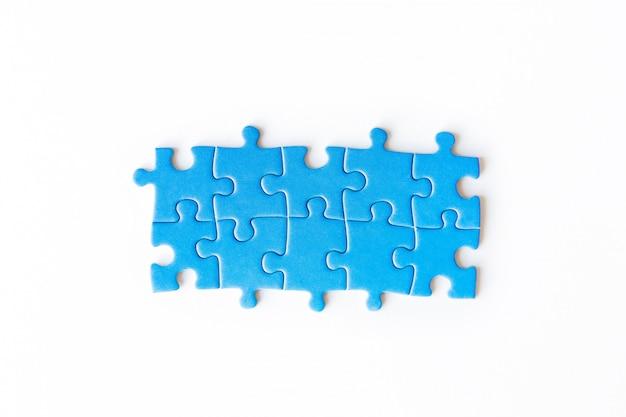 Puzzle de peça de ligação