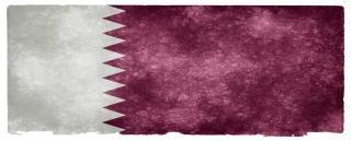 Qatar grunge bandeira