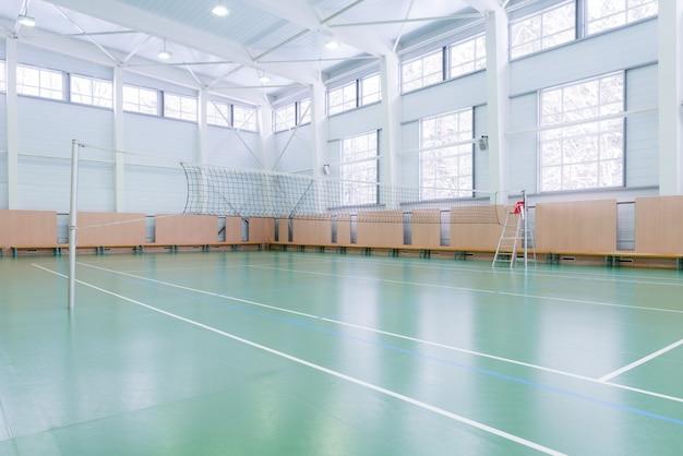 Quadra de tênis interna
