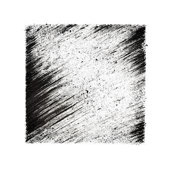 Quadrado com fundo abstrato de traços oblíquos - ilustração raster