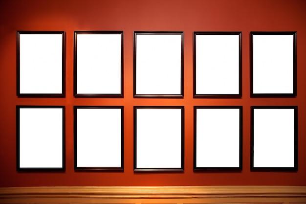 Quadrados brancos
