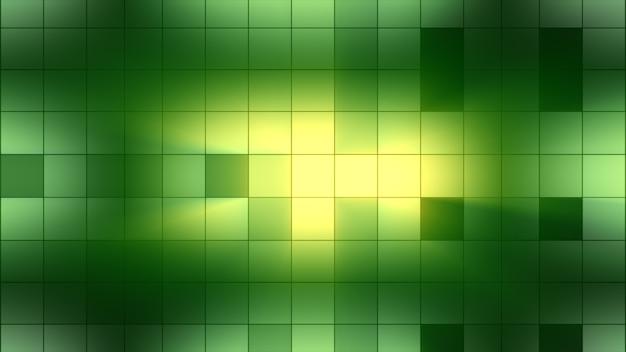 Quadrados da luz de fundo piscam. atmosfera do clube