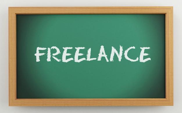 Quadro 3d com texto freelance