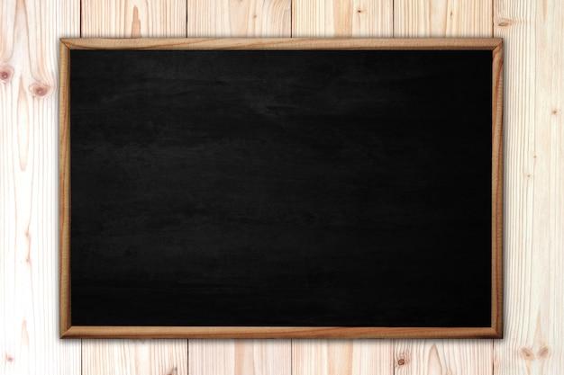 Quadro abstrato ou lousa na madeira