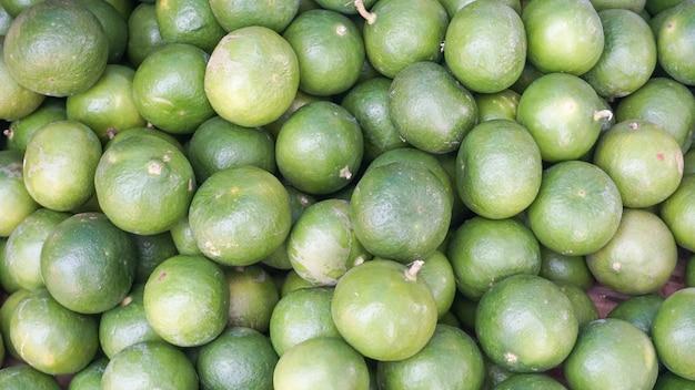 Quadro cheio de grupo de limão