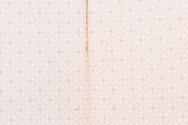 Quadro completo de papel de parede padrão resistido