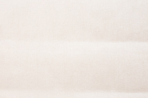 Quadro completo de sacola de tecido de lona branca