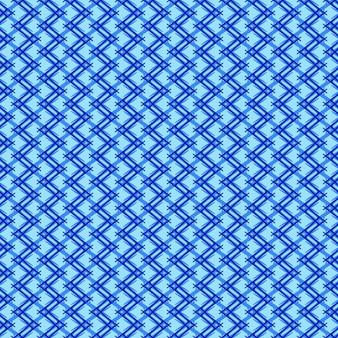 Quadro completo ilustrado de fundo azul sem costura em ziguezague
