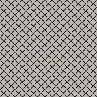 Quadro completo ilustrado plano de fundo transparente de rede preta em cinza