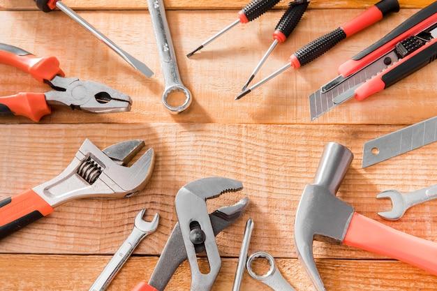 Quadro de ferramentas mecânicas