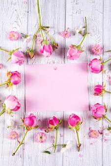 Quadro de flores de primavera