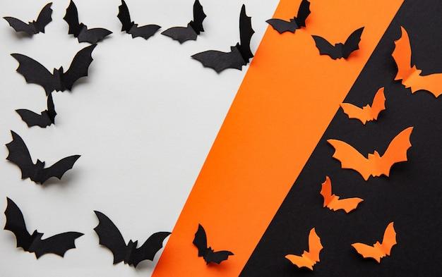Quadro de fundo de tema de halloween