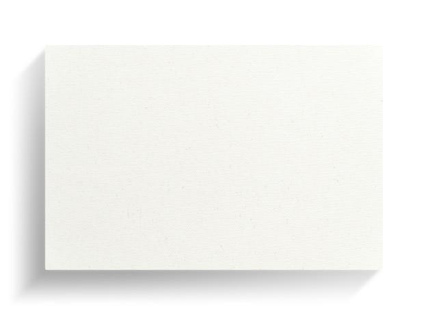 Quadro de lona em fundo branco com sombra suave.