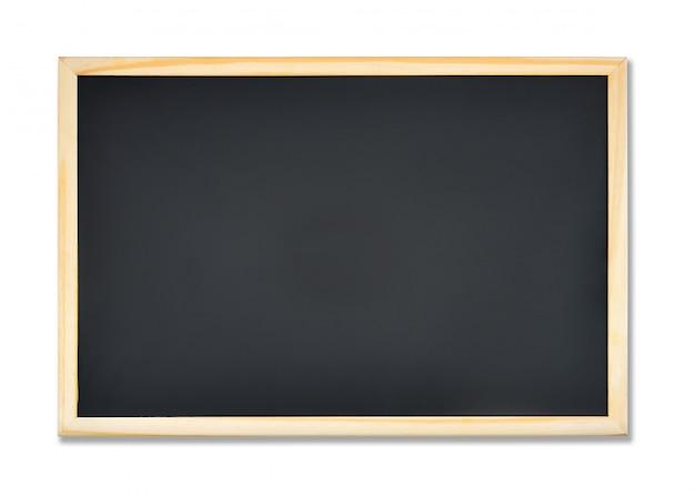 Quadro de retângulo em branco com moldura de madeira