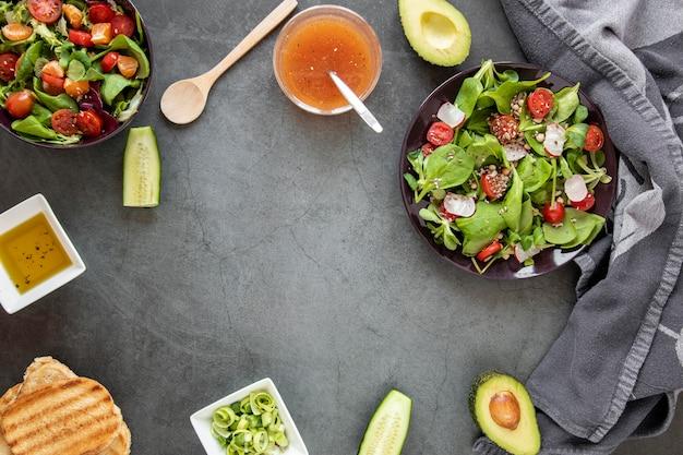 Quadro de saladas