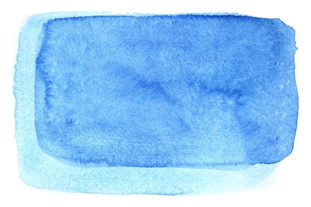 Quadro em aquarela de luz azul. fundo abstrato e espaço para seu próprio texto
