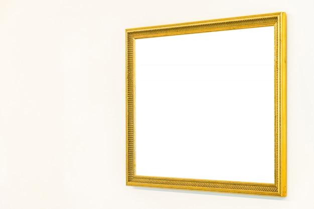 Quadro em branco na parede