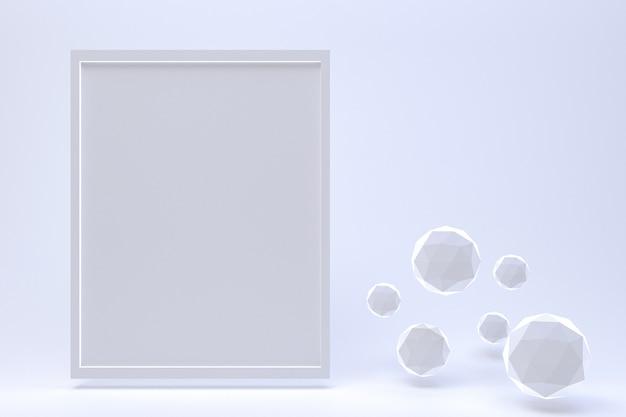 Quadro em fundo de bolha