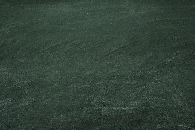 Quadro escolar vazio com marcas de giz