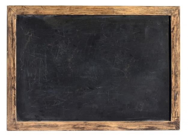 Quadro-negro vintage ou ardósia escolar