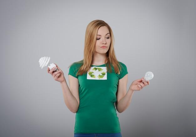 Qual lâmpada será melhor para o meio ambiente?