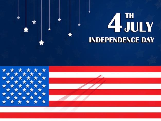 Quarta de julho dia da independência dos eua
